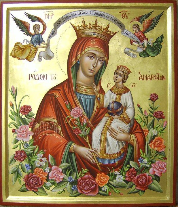 Παναγία Ρόδον το Αμάραντον 3