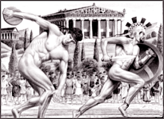 Ancient athletes-filtered
