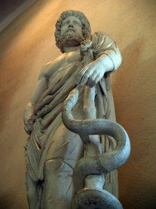 asclepius - museum of epidaurus theatre