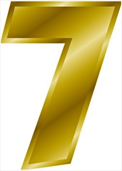gold-number-7